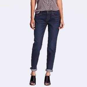 Old Navy Blue Boyfriend Skinny Denim Jeans 16